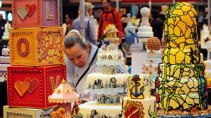 Cake International show at Birmingham's NEC