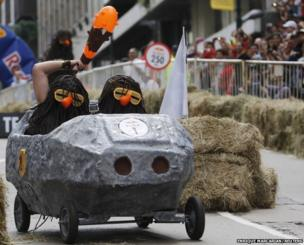 Soapbox race in Buenos Aires