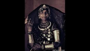 A Rabari woman, India