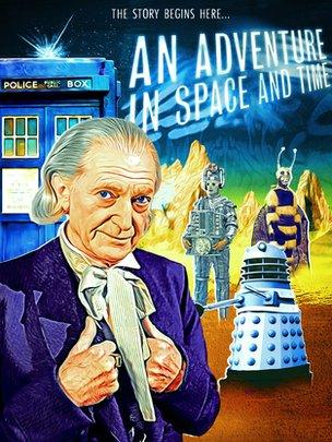 David Bradley as William Hartnell's first Doctor