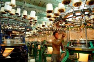 Industry in Calcutta, India