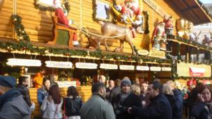 Birmingham's German Market