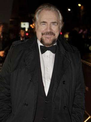 Hollywood actor Brian Cox on the red carpet as he arrives at the Radisson Blu in Glasgow for the awards