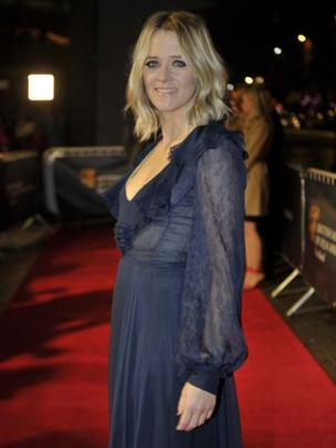 DJ and presenter Edith Bowman hosted the Bafta Scotland awards ceremony