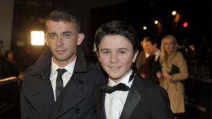 Scottish actors Paul Brannigan and Daniel Kerr. Daniel starred in The Wee Man, which won the Cineworld Audience Award