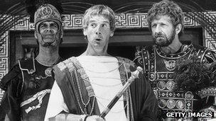 John Cleese, Michael Palin and Graham Chapman