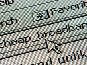 Cheap broadband search