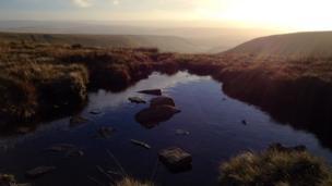 Pen y Fan, looking towards Cantref Reservoir