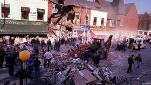 Shankill Road bomb devastated Frizzell's fish shop