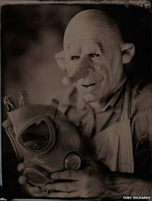 Self-portrait tintype