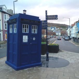 Tardis in Aberystwyth