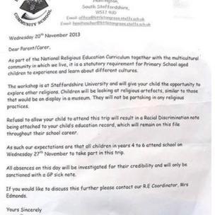 littleton letter original