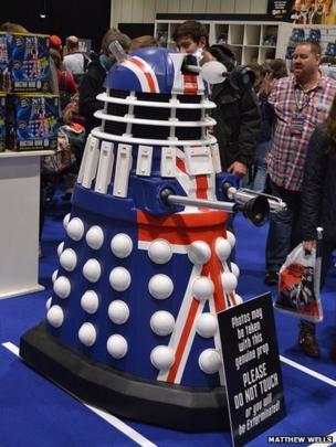 Dalek. Photo: Matthew Wells