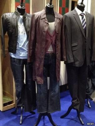 Dr Who costumes. Photo: Becky