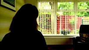 Silhouette of care home whistle-blower