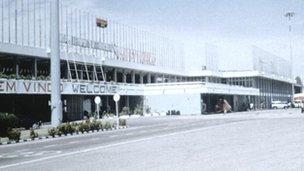 Luanda airport, Angola (file image)