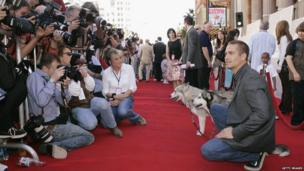 Paul Walker at the premiere of Eight Below