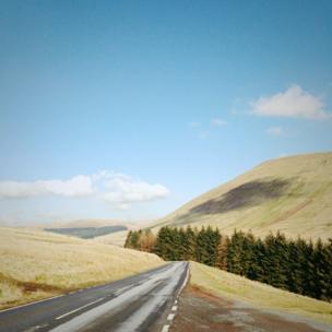 Brecon Beacons road