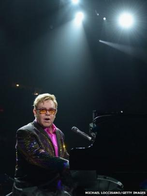 Musician Elton John