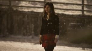 Jenna Coleman as Clara Oswald