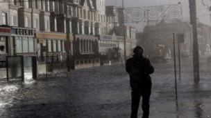 Rain in Blackpool
