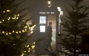 The Doctor in the Tardis