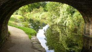 The Monmouthshire & Brecon Canal,