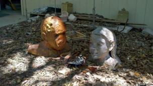 Discarded sculptures
