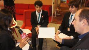 Avni, Sanj and Anthony interview Steve Hermann