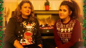 Christmas jumpers. Photo: Nicola Roberts