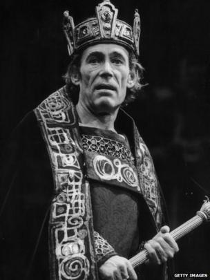 O'Toole plays Macbeth