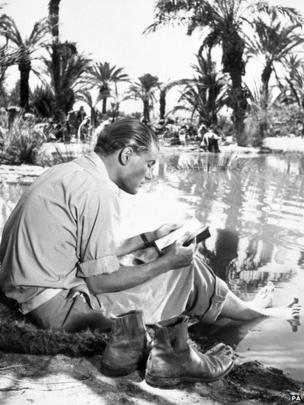 O'Toole on the set of Lawrence of Arabia