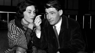 Peter O'Toole and Sian Philips