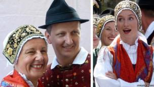 Sava, a folk dance group from Kranj in Slovenia