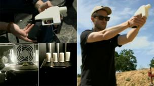 3D printed gun being successfully fired in the US