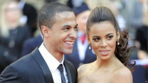Rochelle Humes and her husband Marvin Humes