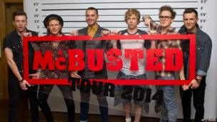 Busted and McFly team up to form 'supergroup' McBusted