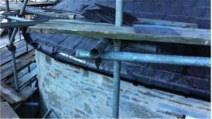 scaffold aberteifi