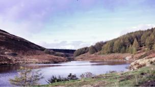 Maerdy reservoir, near Aberdare