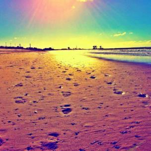 Aberavon beach, near Port Talbot