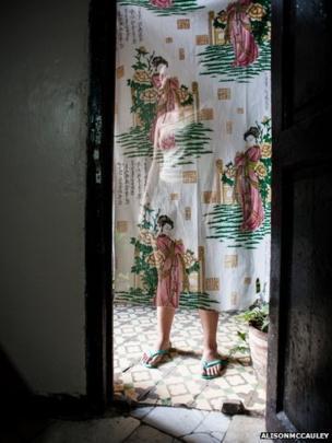 One-room dwelling in Havana.