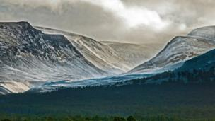 Snowy Cairngorms
