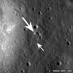 LRO views Yutu and its lander