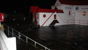 Flooding in Fort William