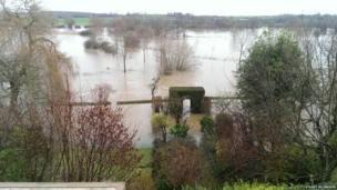 Flooding in Dorset. Photo: Stuart McGregor