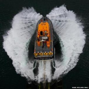 The Lizard's Tamar class lifeboat