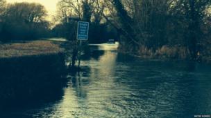 Bablock-Hythe flood