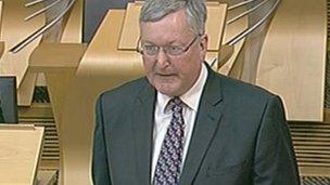 Ministear Cumhachd na h-Alba, Fearghas Ewing