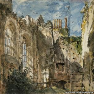 Cowdray House by John Constable