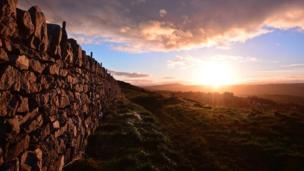 Sunrise from Llysfaen, Conwy